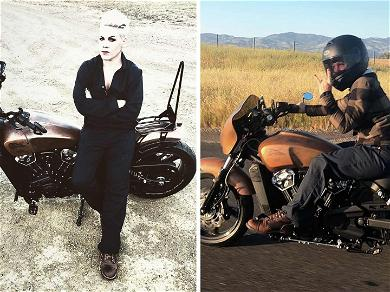 P!nk Takes Motorcycle for a Spin After Carey Hart Builds and Gifts Her a New Bike
