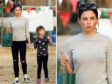 Jenna Dewan Gets In Mommy-Daughter Date at Christmas Tree Lot
