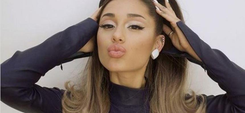 Ariana Grande Debuts First Wedding Photos & A Glimpse At Her Gown