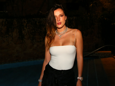 Bella Thorne Celebrates That Time Of The Month With String Bikini Pic
