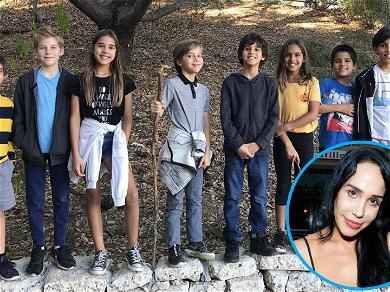 Nadya 'Octomom' Suleman Shares Pic of 8 of Her Kids! 'This Is A Rare Occurrence'