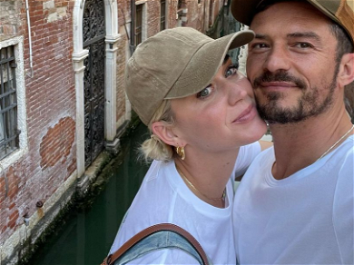 Orlando Bloom Shares Kissing Selfies With Katy Perry On Romantic Italy Vacation!!