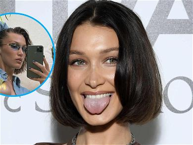 Bella Hadid Barely Covers Up In Steamy Selfie, She Came Dangerously Close To A Nip Slip