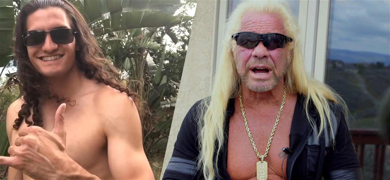 Dog The Bounty Hunter's Grandson Goes Shirtless To Promote 'Dog's Most Wanted'