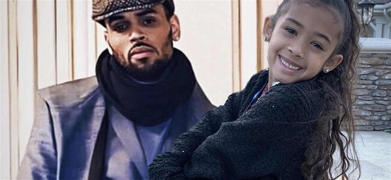 Chris Brown Praised For Being 'Good Dad' After Drawing With Royalty!