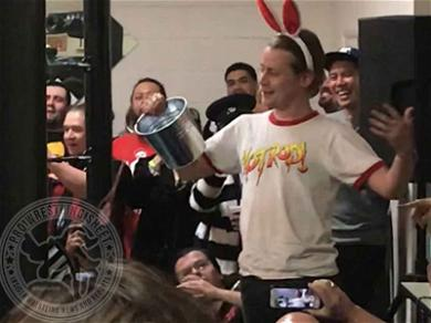 Macaulay Culkin Interrupts Wrestling Match With 'Home Alone' Traps