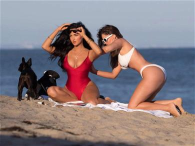 'WAGS' BFF's Olivia Pierson & Natalie Halcro Lotion Each Other Up