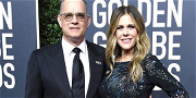 Tom Hanks' Wife Rita Wilson Panics After Glam Squad Arrives Late For Golden Globes!