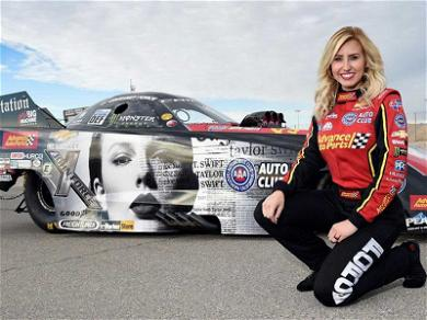 Taylor Swift's Face Will Be Going 300+ MPH This Weekend