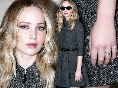 Jennifer Lawrence Flashes Engagement Ring in First Public Appearance Since Proposal