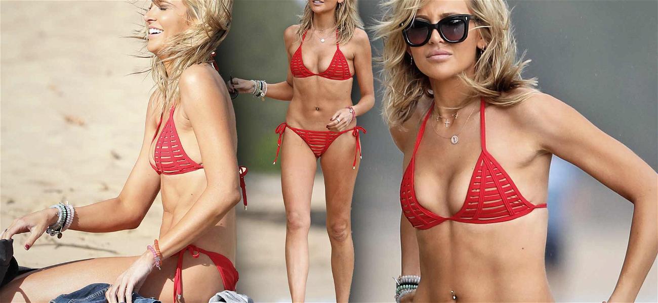 'Hills' Star Stephanie Pratt Sizzles in Tiny Bikini While Celebrating Reboot in Hawaii