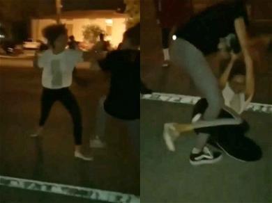 XXXTentacion's Ex-Girlfriend Got Into Street Fight After His Vigil