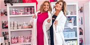 'RHOC' Stars Emily Simpson & Gina Kirschenheiter Show Off Their Cakes During Beauty Store Opening