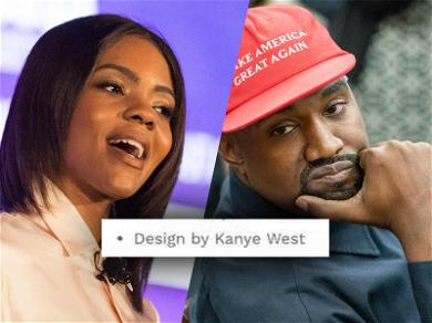 Candace Owens Responds to Kanye West's Slam by Lying About BLEXIT Gear