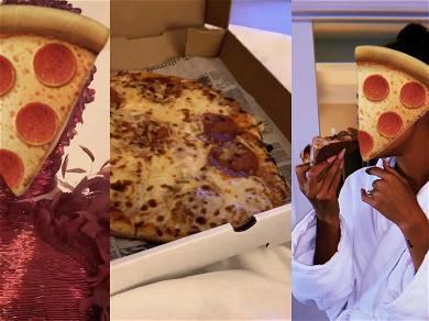 Guess Which Stars Filled Up on Pizza Immediately After the Met Gala?!
