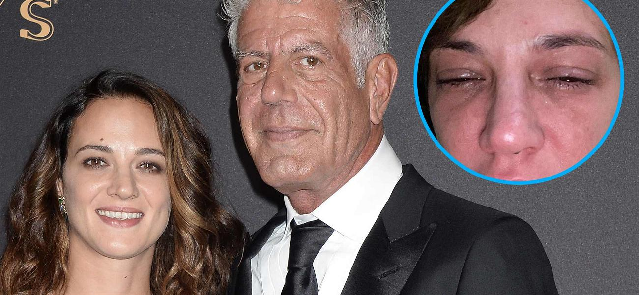 Asia Argento Cries On Anthony Bourdain's Death Anniversary, Shares Painful, No-Filter Selfie