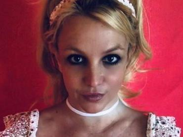 Britney Spears Rocks Grandmother's Swimsuit To Explain The Color Red