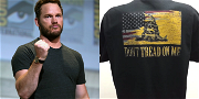 Chris Pratt Stirs Controversy By Wearing A 'Don't Tread On Me' Shirt