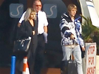 Selena Gomez and Justin Bieber Jet Away Together