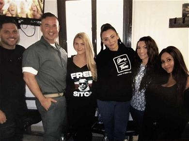 Snooki, JWoww & Ronnie Visit The Situation in Prison