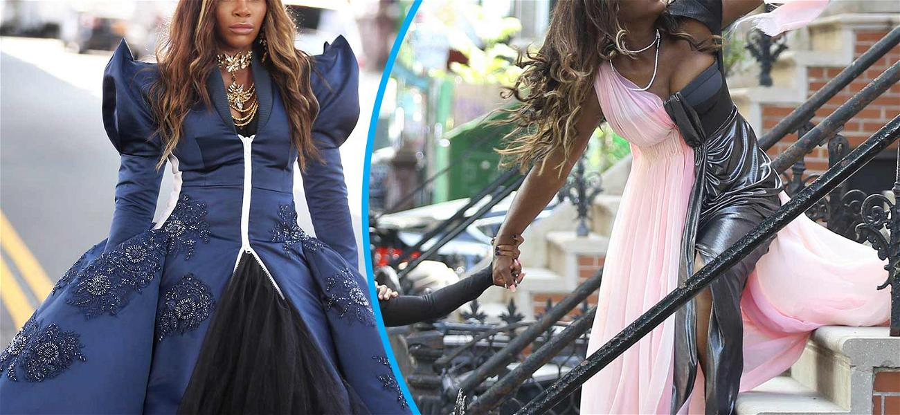 Serena Williams Reigns Over NYC While Filming Beats Commercial