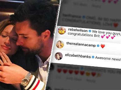 Brittany Snow's 'Pitch Perfect' Bellas Shower Her With Love After Engagement