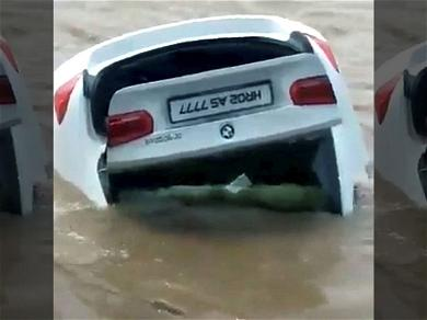 Spoiled Teen Pushes Brand New BMW Into River Because He Wanted A Jaguar