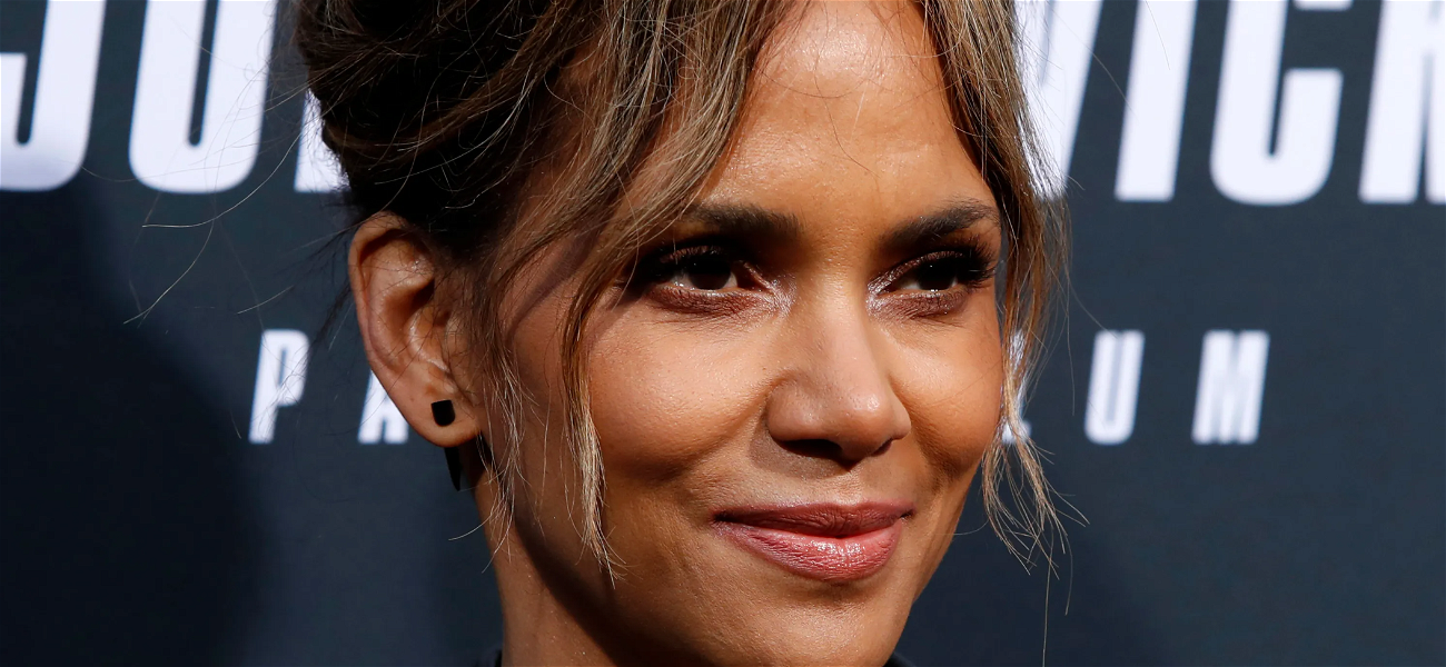 Halle Berry's Toned Tummy And Floral Bikini Bottoms Impress Famous Friends