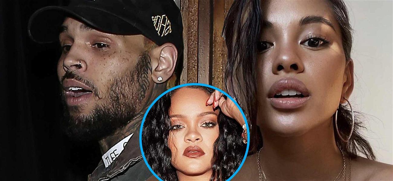 Chris Brown's Baby Mama Ammika Harris Unfazed By Resurfaced Rihanna Audio
