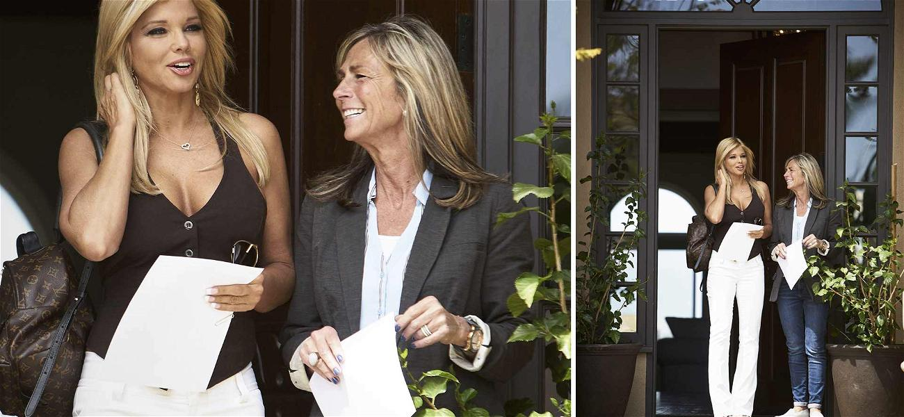 Donna D'Errico Looking to Become Neighbors with the Kardashians
