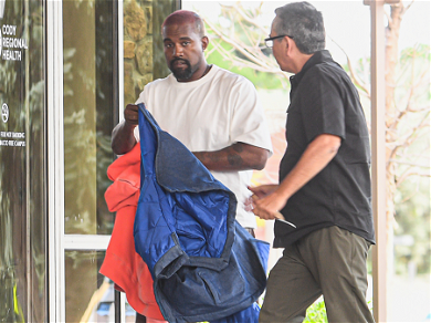 Kanye West Spotted Entering Hospital Emergency Room In Coty, Wyoming — See The Photos!!