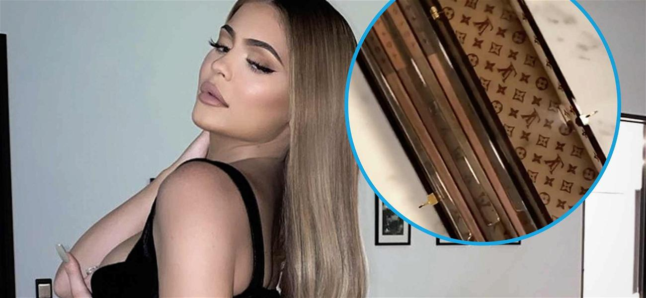 Kylie Jenner Catches Heat Over $450 Louis Vuitton Chopsticks: 'People Are Starving!'
