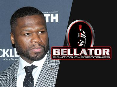 50 Cent Signs Deal With Bellator MMA for 'Get the Strap' Apparel … So Guess He Wasn't Lying After All?
