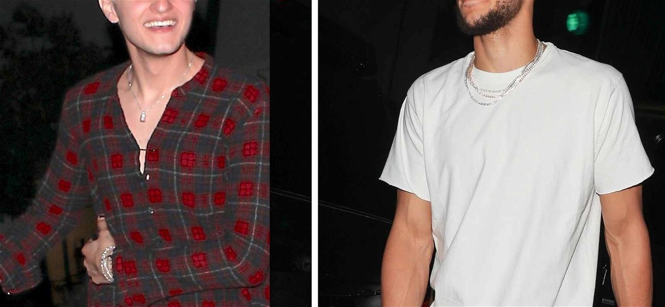 Anwar Hadid & Ben Simmons Partying at Same Nightclub Amid Kendall Jenner Dating Rumors