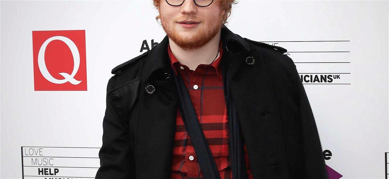 Ed Sheeran's Broken Arm at the Center of New Lawsuit