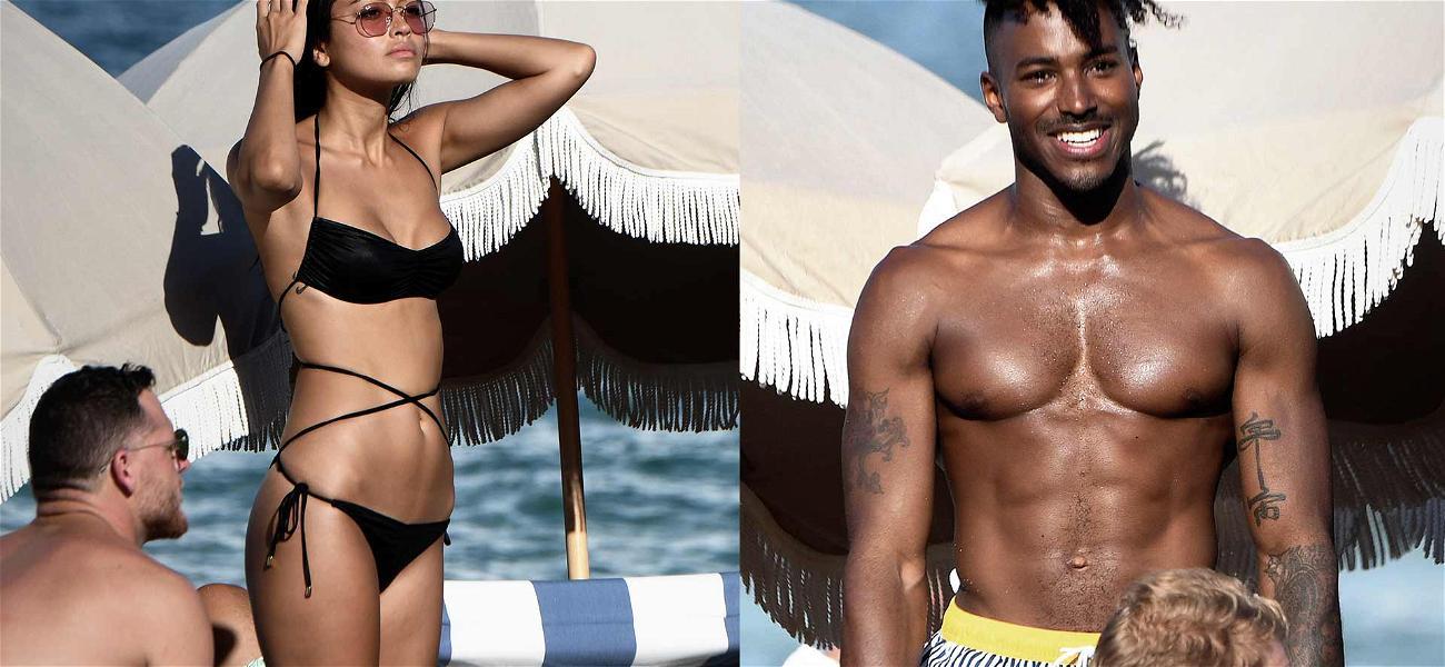 DJ Ruckus Parties In Miami With Shanina Shaik Look-alike Amid Split