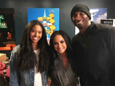 Kobe Bryant Gets Down To Demi Lovato In Concert