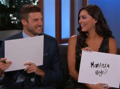 'Bachelorette' Becca Kufrin Makes TV Debut With Fiancé Garrett Yrigoyen