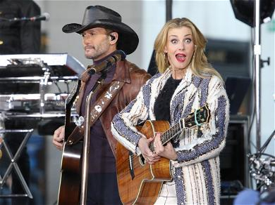 Faith Hill and Tim McGraw Perform at 'Today' Show