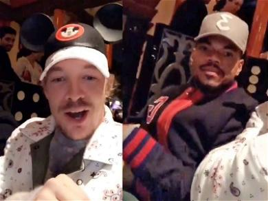 Diplo and Chance The Rapper Party at Disneyland for Exclusive Fashion Show