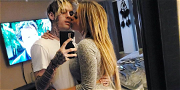 Aaron Carter Is Engaged To His Ex-Girlfriend Melanie Martin, See The Diamond Ring!
