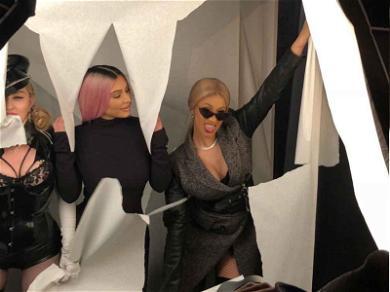 Kim Kardashian and Cardi B Had the Most Fun at Madonna's Oscar Party
