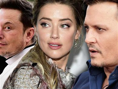 Elon Musk Allegedly Paid Late Night Visits to Amber Heard While Johnny Depp Was Off Filming 'Pirates 5'