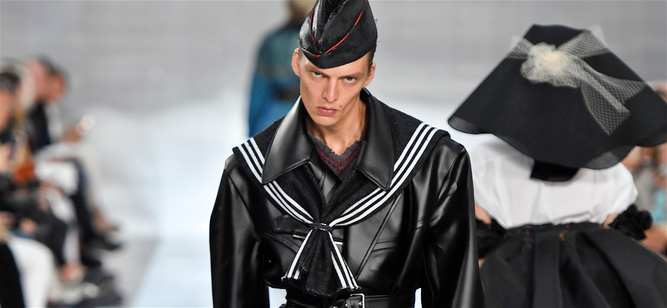 This Model Just Broke The Internet With His Runway Stomp