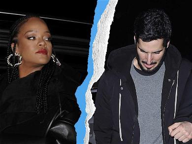 Rihanna Splits With Billionaire Boyfriend, Fans Hope It's A Sign Of The New Album!