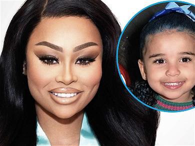 Blac Chyna Dyes Daughter Dream's Hair Blue Amid Rob Kardashian Custody Drama