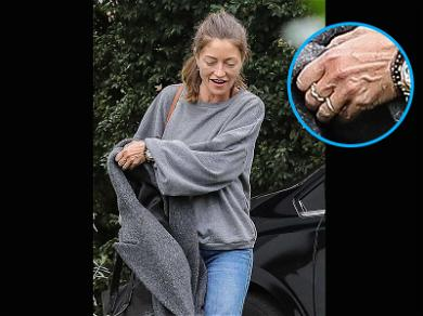 Rebecca Gayheart Steps Out for First Time Since Filing for Divorce … Still Wearing Ring?