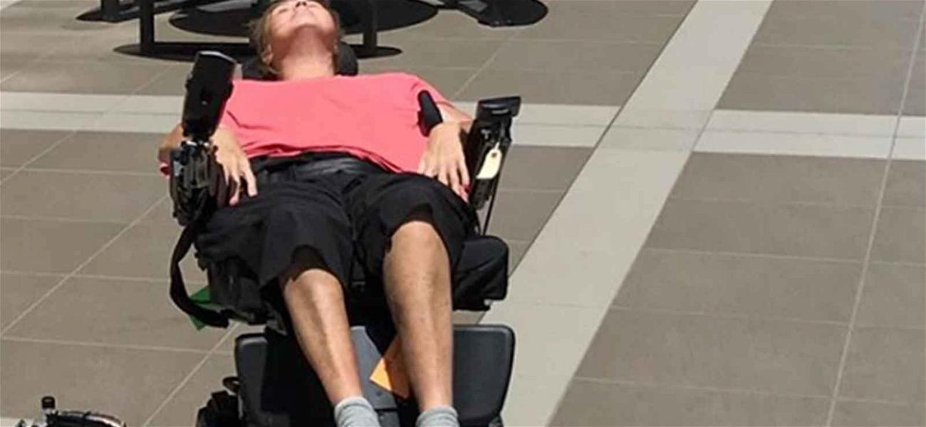 Abby Lee Miller Basks in the Sun After Spinal Surgery