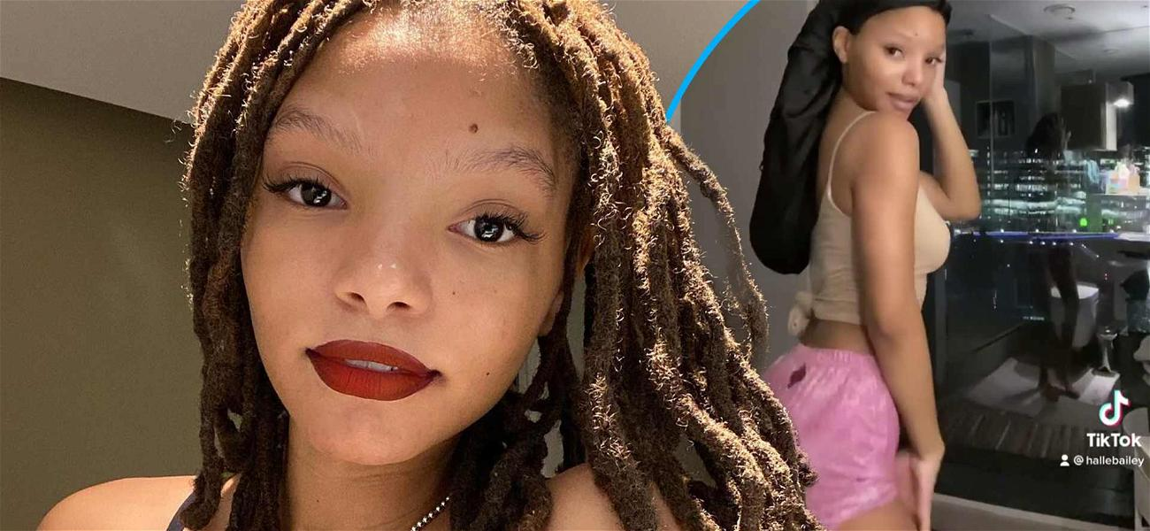 Halle Bailey Busts Out 'Up' Challenge In Pajamas To Get Your Night Started