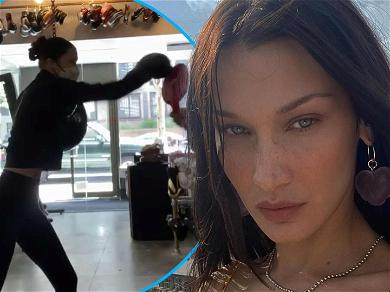 Bella Hadid Takes Out Frustration By Boxing After Speaking Out About Israeli-Palestinian Conflict